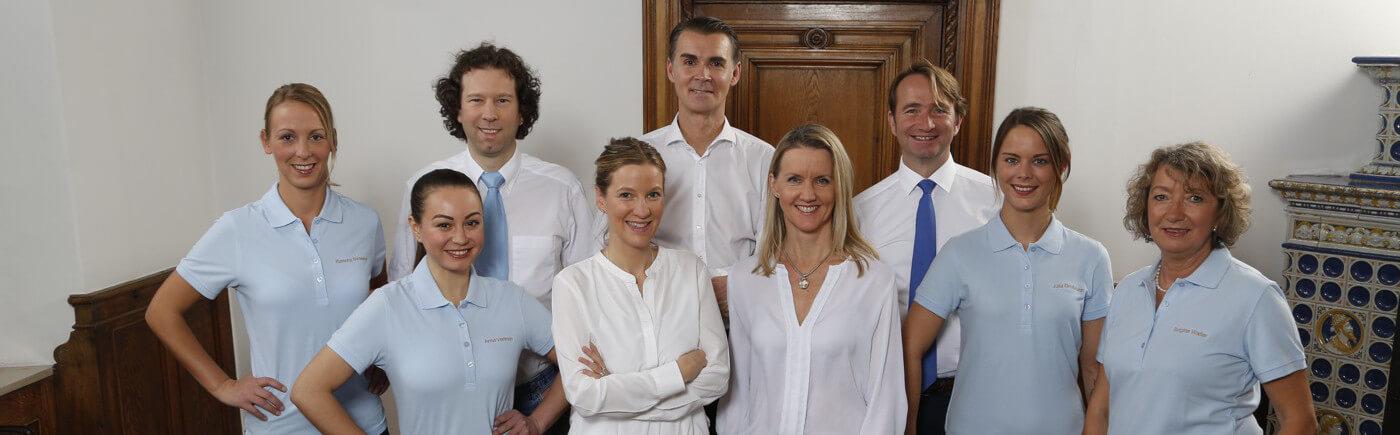 Das Team der Privatpraxis Kosttor in München