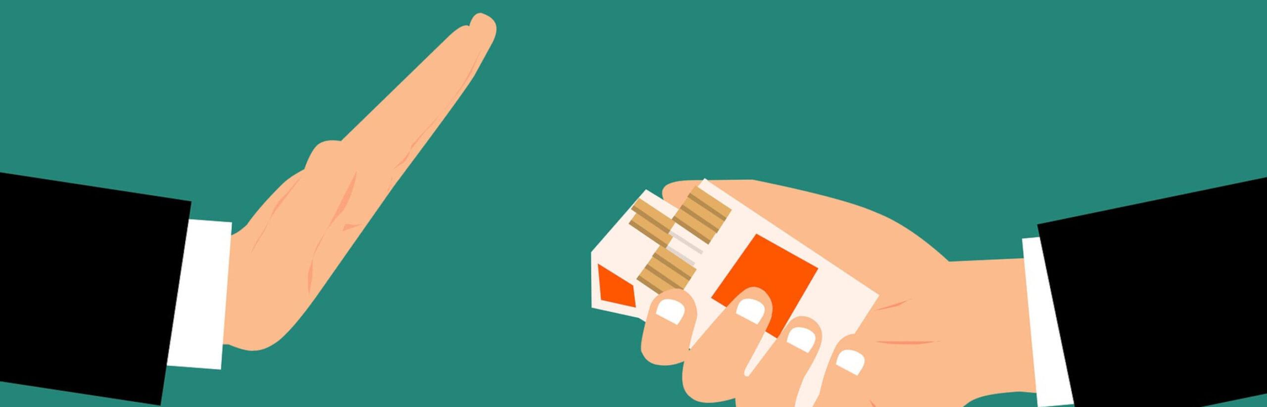 Rauchen aufhören durch Rauchfrei Spritze